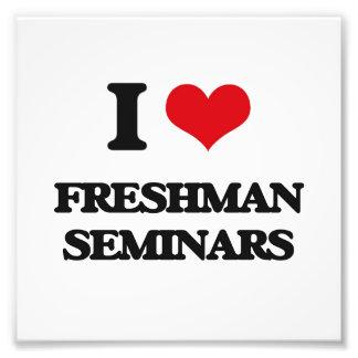 I Love Freshman Seminars Photo Print