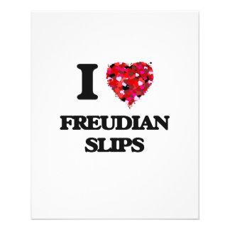 I Love Freudian Slips 11.5 Cm X 14 Cm Flyer
