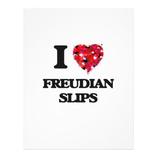 I Love Freudian Slips 21.5 Cm X 28 Cm Flyer