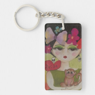 I love Frida Key Ring