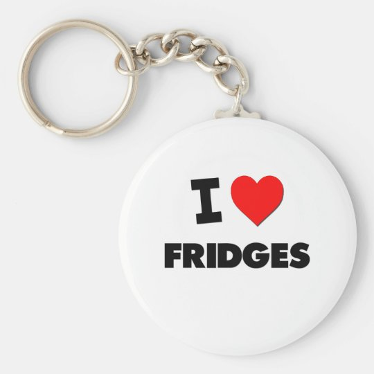 I Love Fridges Key Ring