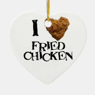 I love Fried Chicken Ornament