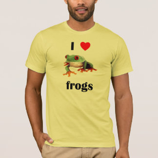 I Love  Frogs T-Shirt