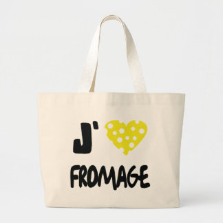 I love fromage icon canvas bags