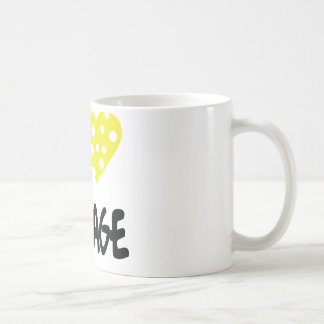 I love fromage icon coffee mug