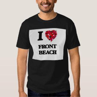I love Front Beach Massachusetts T Shirt