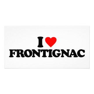 I LOVE FRONTIGNAC CUSTOM PHOTO CARD