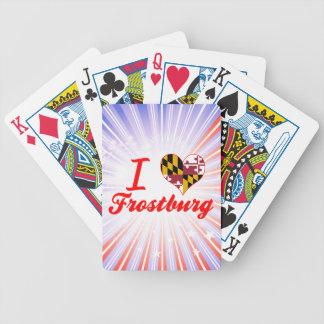 I Love Frostburg Maryland Bicycle Card Decks