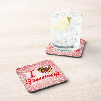 I Love Frostburg Maryland Drink Coaster