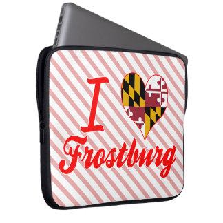I Love Frostburg Maryland Laptop Computer Sleeve