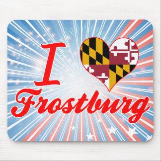 I Love Frostburg Maryland Mouse Pads