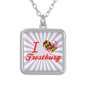 I Love Frostburg, Maryland Necklace