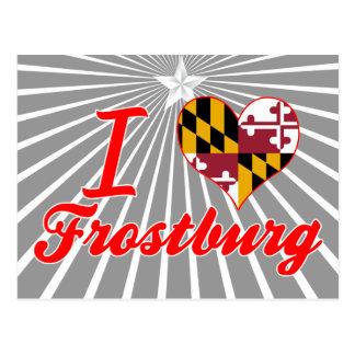 I Love Frostburg, Maryland Postcards