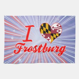 I Love Frostburg, Maryland Towel