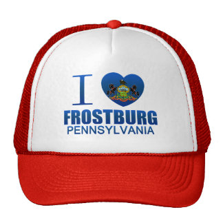 I Love Frostburg, PA Cap