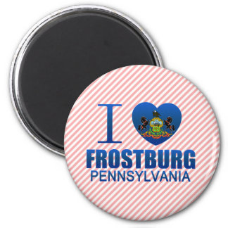I Love Frostburg PA Fridge Magnets