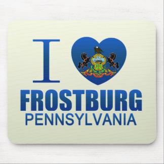 I Love Frostburg PA Mouse Pads