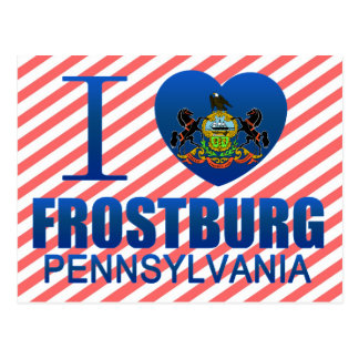 I Love Frostburg PA Postcards