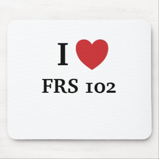 I Love FRS102 - I Heart FRS 102 Mouse Pad
