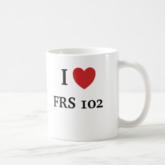 I Love FRS 102 Basic White Mug