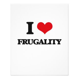 I love Frugality Flyer