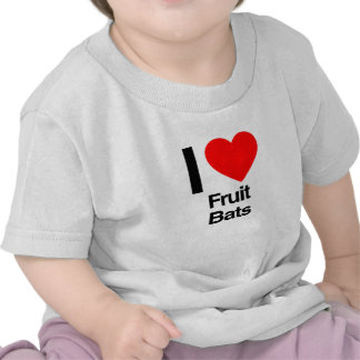 i love fruit bats t shirts