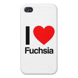 i love fuchsia iPhone 4 case