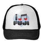 I Love Fuji Mesh Hats