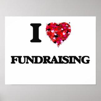 I love Fundraising Poster