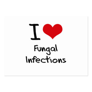 I Love Fungal Infections Business Card Template