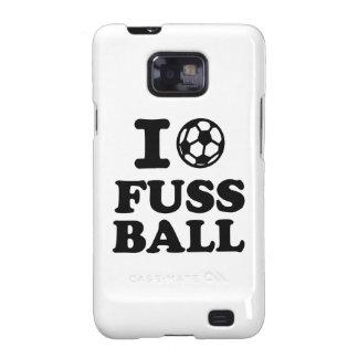 I love Fussball soccer Samsung Galaxy SII Cover