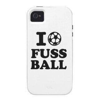 I love Fussball soccer iPhone 4/4S Case
