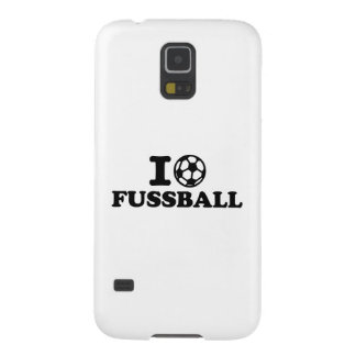 I love Fussball soccer Galaxy S5 Covers