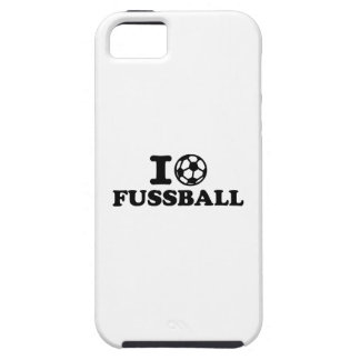 I love Fussball soccer iPhone 5 Covers