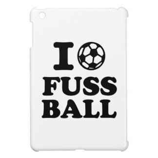 I love Fussball soccer iPad Mini Case