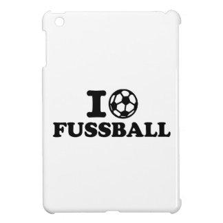 I love Fussball soccer Case For The iPad Mini