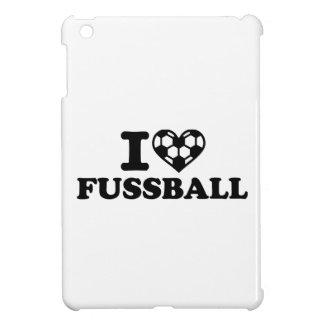 I love Fussball soccer iPad Mini Cover
