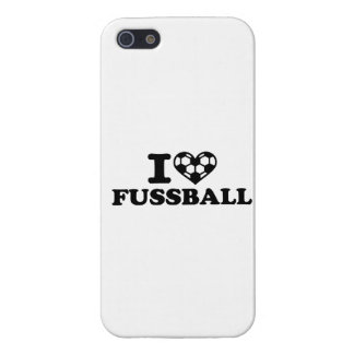 I love Fussball soccer iPhone 5 Cover