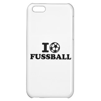 I love Fussball soccer iPhone 5C Covers