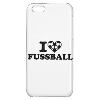 I love Fussball soccer iPhone 5C Case