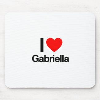 i love gabriella mouse pads