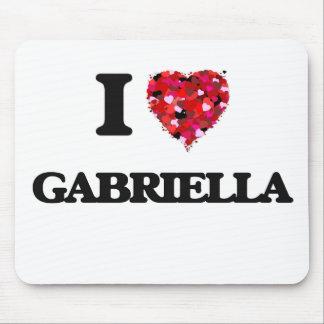 I Love Gabriella Mouse Pad