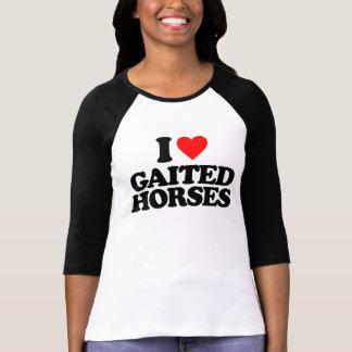 I LOVE GAITED HORSES T-SHIRTS