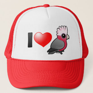 I Love Galahs (crest up) Trucker Hat