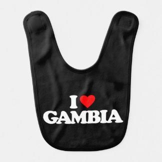 I LOVE GAMBIA BIBS