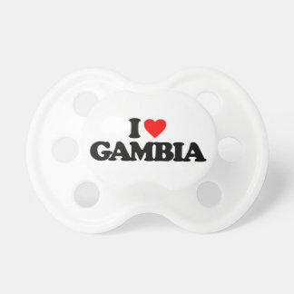 I LOVE GAMBIA BABY PACIFIER