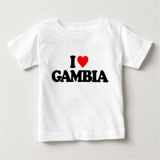 I LOVE GAMBIA INFANT T-Shirt