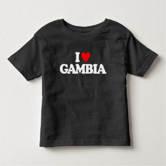 I LOVE GAMBIA TSHIRT