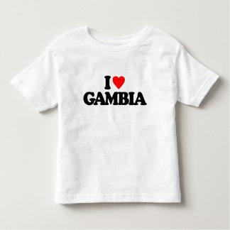 I LOVE GAMBIA T-SHIRT