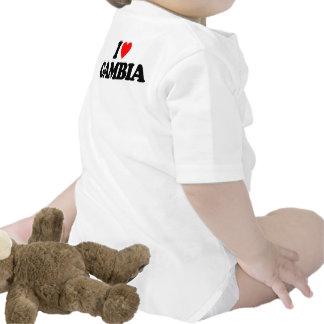 I LOVE GAMBIA BABY BODYSUIT